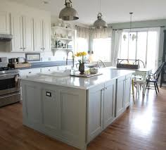 How To Build Kitchen Cabinets From Scratch Ikea Hack How We Built Our Kitchen Island Jeanne Oliver