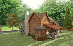 plans for retirement cabin small house plan 783 street view 783 sq ft first floor