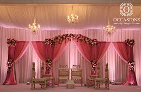 indian wedding mandap for sale furniture draping fabric new pink drapery and floral mandap
