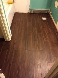 Lowes Kitchen Floor Tile by Shop Style Selections Serso Black Walnut Glazed Porcelain Floor