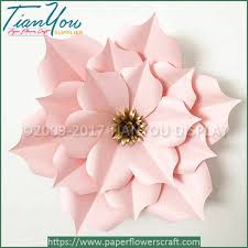 wedding backdrop flowers large paper flowers wedding backdrops rosa paper craft supplier