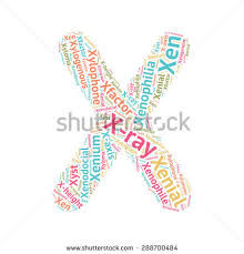 cute word cloud abc letters series stock vector 288700484