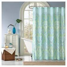 Target Paisley Shower Curtain - teal curtains target naomi shower curtains target