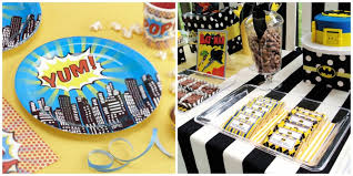 batman birthday party online invitations decor ideas fun snacks