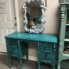 Turquoise Vanity Table Best New And Used Furniture Near Brazoria County Tx