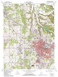 Maps Indianapolis Bloomington Topographic Map In Usgs Topo Quad 39086b5
