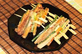 cuisine cor馥nne recette recette land recette de cuisine coréenne sanjeok gotchi