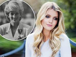 lady charlotte diana spencer in her first major interview diana s niece lady kitty spencer