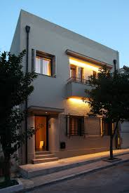 modern home design exterior 2013 acropolis view house design by minas kosmidis architecture