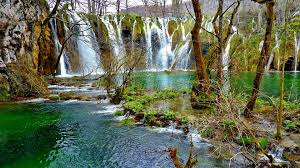 plitvice lakes national park croatia world famous waterfalls in
