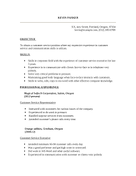 Resume Samples For Experienced In Word Format by Customer Service Resume Free Customer Service Resume Templates