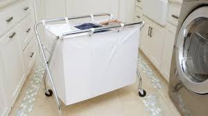 laundry sorters and hampers heavy duty 3 bin laundry sorter youtube
