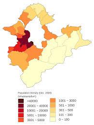 Population Density Map File Population Density Map Of Xinbei Dec 2009 Svg Wikimedia