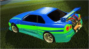 nissan skyline r34 2 fast 2 furious dom u0027s car from fast u0026 furious coming to rocket league polygon
