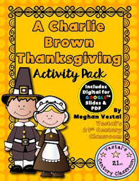 a brown thanksgiving digital pdf included tpt