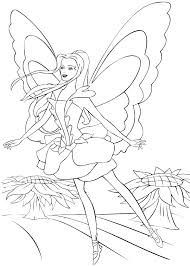 barbie thumbelina coloring pages barbie fairytopia pages coloring