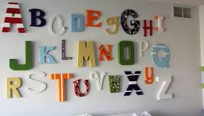 Ideas For Letters How To Decorate The Walls With Wood And Metal Letters