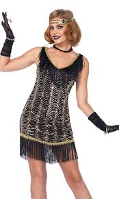 flapper halloween costumes for womens flappers costumes forplay