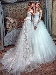 sweetheart corset princess crystals long sleeve bridal ball gown