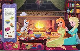 disney frozen book olaf princess anna
