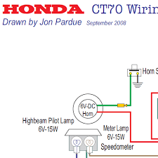 honda ct70 wiring diagram usa home of the pardue brothers