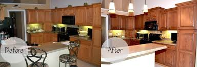 custom kitchen kitchen cabinet refacing before and after