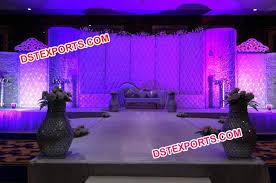 wedding backdrop panels stage leather tufted backdrop panel