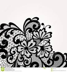 corner lace ornament stock vector image 50306782