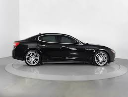 maserati sedan black used 2014 maserati ghibli sedan for sale in west palm fl 88810