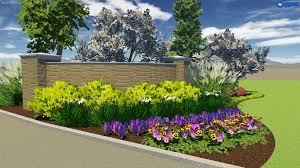 spring landscaping view 2d 3d landscape design plans passiglia s st louis mo