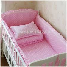Baby Crib Bed Sets Baby Crib Bedding Set 6 Pcs 100 Cotton Crib Bumper Included