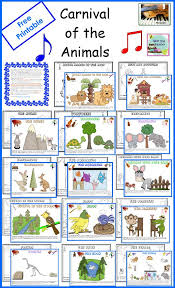 47 Best Carnival Of The Animals Lesson Plans Listening Activities Carnival Om