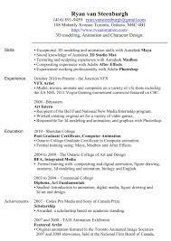 One Page Resume Format Resume Template Single Page Free Professional Online One In Word