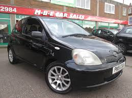 used toyota yaris sr 3 doors cars for sale motors co uk