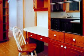 desk in kitchen ideas kitchen ideas wall cabinets a built in desk home guides
