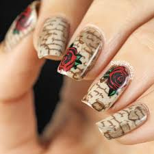 nail design with letters nail art on designs gel and flower nail