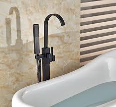 free standing bathtub faucet senlesen floor mount bathtub faucet free standing filler tub with