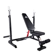 Squat Rack And Bench Amazon Com Adidas Sport Utility Bench With Squat Rack Red
