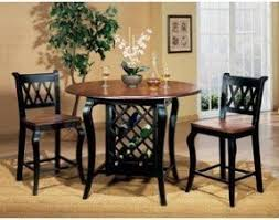 Dining Room Table With Wine Rack Dining Table With Wine Storage Foter