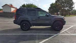 2003 nissan xterra lifted so i had some free time over july 4th weekend i plasti dipped my