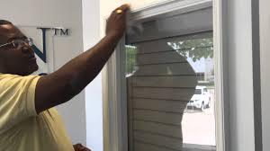 Shade For Patio Door Cellular Shades On Patio Doors