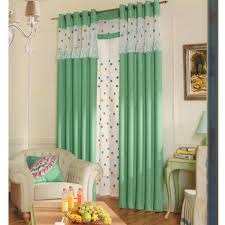 Green Color Curtains Green Color Solid Fabric The Curtain Exchange