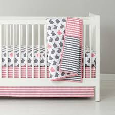 Pink And Aqua Crib Bedding Pink Nautical Crib Set Baby And Nursery Furnitures