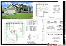 cad house plan house plans