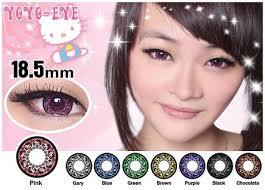 kitty princess contact lenses