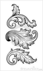 e9acc176d267824093cf7d6102995304 baroque ornament scroll pattern