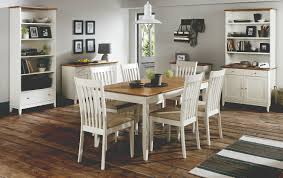 Shaker Dining Room Chairs by Two Tone Kitchen Table Annika Dining Table With 4 Chairs Natural
