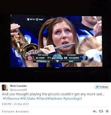 Flute Memes - crying piccologirl is ncaa tournament s latest viral meme craze