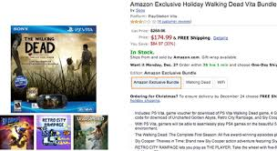 amazon black friday deals web site black friday ps vita black bundle at amazon is shockingly cheap