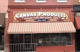 Awning Boat Dubuque Awning Company Canvas Products